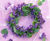 Sweet Violet Wreath