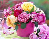 Rose (English rose, edelrose, ground cover rose)