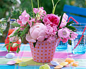 Bouquet of flowers, Paeonia (peony)