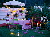 Decoration for garden party