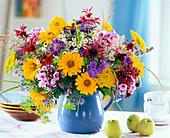 Heliopsis (daisy), Monarda (bergamot)