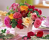 Rose (English, precious and ground cover rose)