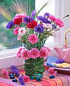 Cornflower garland