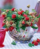 Raspberry arrangement