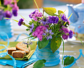Ageratum (liver balm), Centaurea (cornflower)