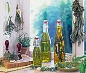 Rosemary and thyme oil