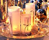 Lanterns with parchment paper