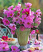 Cosmos flower arrangement