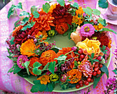 Stuck late summer wreath