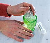Snowdrop plug-in aid silver wire
