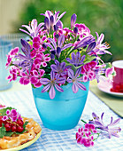 Arrangement of Agapanthus (African Ornamental Lily)