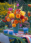 Late summer bouquet from Dahlia