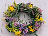 Meadow flowers wreath