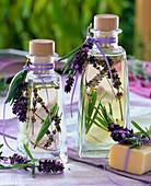 Wellness oil with lavandula and rosemary