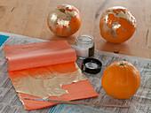 Gilded oranges
