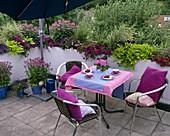Plant roof terrace
