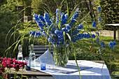 Lush bouquet of Delphinium elatum 'Magic Fountain'