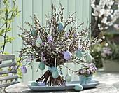Bouquet made from Salix, Betula, Larix