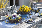 Easter brunch on the terrace