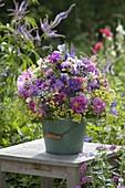 Early summer bouquet from the perennial garden