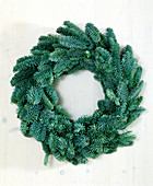 Advent wreath blank made of Abies procera best durability, no needles
