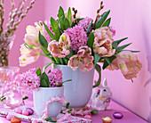 Tulipa 'Fantasy' (Pink parrot tulips)