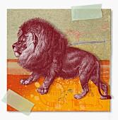 Montage of zodiac Leo