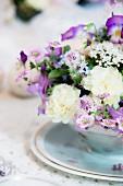 Romantic flower arrangement