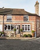 Restored English brick house