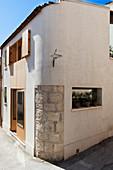 Fassade eines italienischen Hauses