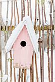 Birdhouse - Nesting Box In The Snow