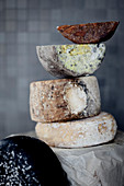 Spanish sheep's and goat's milk cheeses