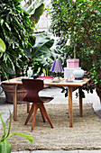 Small study area in conservatory