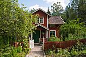 Typical 19th century Swedish house