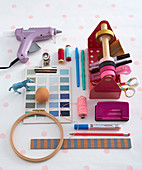 Various craft materials