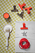 Craft utensils for making clipboard