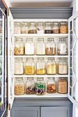 Store cupboard in kitchen