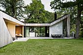 Bungalow-style architect-designed house