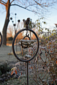 Handmade decorative garden stake
