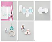 Anleitung für Schachteln aus Papier als Geschenkverpackung