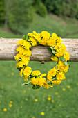 Dandelion wreath