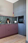 Elegant fitted kitchen