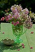 Bouquet of purple crown vetch