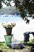 Sommerpicknick am See