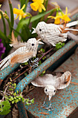 Newspaper birds