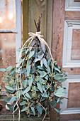 Eucalyptus tied as a little tree