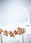 Cookie figures from ginger dough