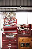 Vintage Werkzeugkasten