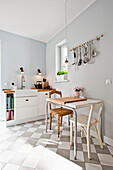 Kitchen furnished in country style, Hamburg, Germany