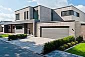 Einfamilienhaus, Neuenkirchen, Nordrhein-Westfalen, Deutschland